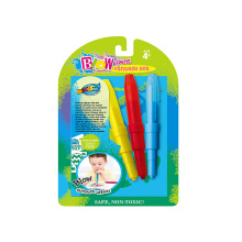 Manufatura profissional 3 cores blo caneta conjunto sopro arte canetas sopro canetas comerciais