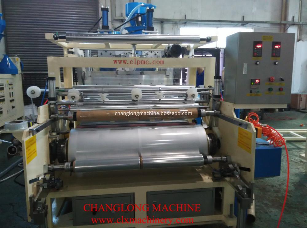 Stretch film manufacturing machine