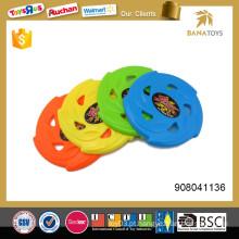 9,5 polegadas plástico kid esporte frisbee brinquedo