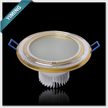Golden 9W LED Ceiling Light
