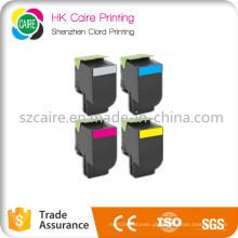 Cartucho de tonalizador compatível da cor das vendas da fábrica para Lexmark CS310 / 410/510 70c1HK0 / 70c1hc0 / 70c1hm0 / 70c1hy0
