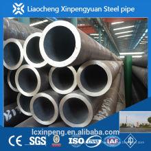 Fabricação e exportador de alta precisão sch40 tubo de aço carbono sem costura e tubo laminado a quente