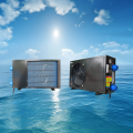 Swimming pool heat pump with water proof