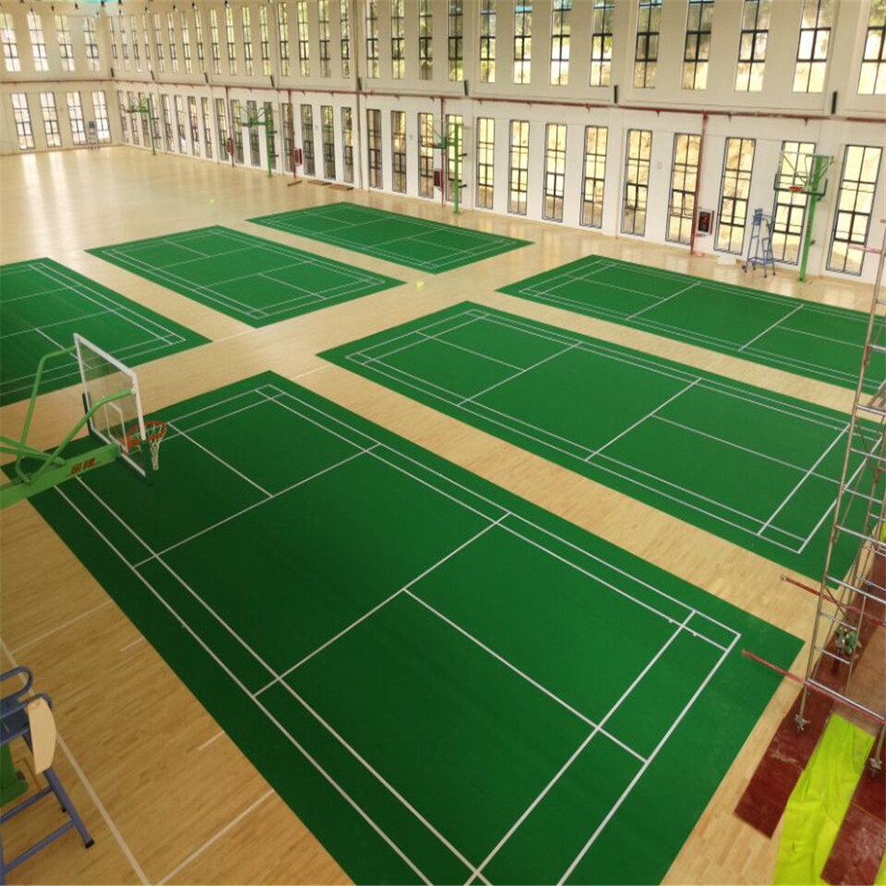 enlio badminton pvc flooring