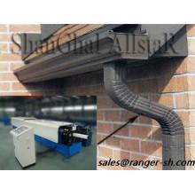 Tuyau de descente carré métal profileuse machine fabricant