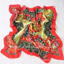 2013 neuester quadratischer Polyester-Schal
