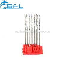 Fraise en bout à 1 cannelure en carbure monobloc BFL - Fraise en bout acrylique