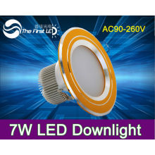 High brightness 7W led ceiling lamps,downlight, home lighting