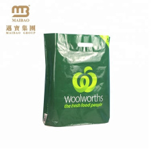 Guangzhou Manufacturer Custom Made Printed Hdpe Ldpe Bio-degradable D2W Biodegradable Recycle Plastic Shopping Bags