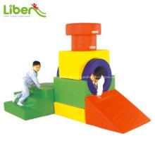 Equipo de juego suave de interior para niños para supermercado