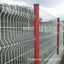 Curvy Welded Wire Mesh Fence with Weave Shape