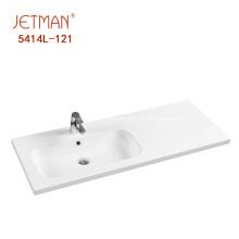 Novo modelo de lavatório de mão superior lavatório de banheiro