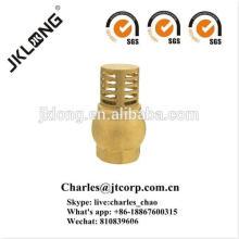 J5005 CW617n Válvula de retenção de válvula de bronze