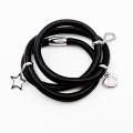 Fashion Wrapped Genuine Leather Bracelet Jewelry, Custom Made Charm Bracelet