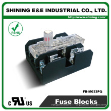 FB-M033PQ UL approuvé égal à Bussmann 30A 3 Pole Porcelaine Fuse Box