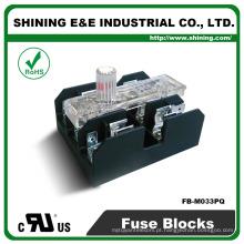 FB-M033PQ UL Aprovado Equal To Bussmann 30A 3 Pole Porcelain Fuse Box