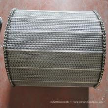 201,310S, 304,316,316L ss / en acier inoxydable convoyeur treillis métallique ceinture