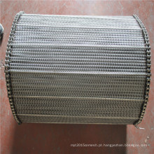 201,310S, 304,316,316L ss / correia de malha de arame de transporte de aço inoxidável