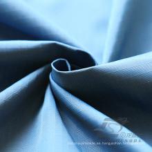 Water & Wind-Resistant Down Jacket Tejido Plaid Jacquard 100% Nylon Tela (N019)