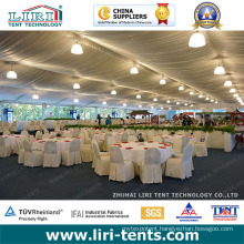 Luxury Clear-Span Wedding Tent with Chairs and Tables