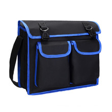 Multifunctional Electrician Repair One-Shoulder Messenger Oxford Cloth Tool Bag Canvas Thickened Tool Bag