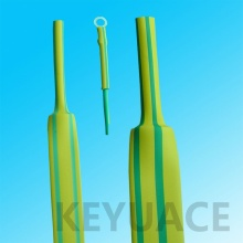 Identificación Use Green Yellow Heat Shrink Sleeve