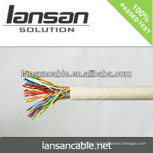 LANSAN cabo de telefone de alta velocidade undergroud CE UL ISO APPROVAL