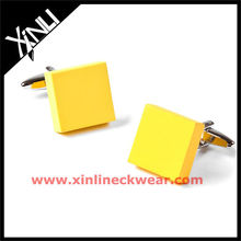 2013 New Blank Cufflinks Yellow