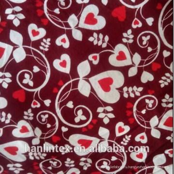Печатная флисовая ткань для постельного белья
