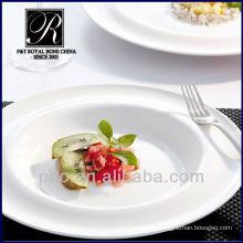 P & T Chaozhou facotry Großhandel Porzellan Platte Geschirr gesetzt, tiefe Platten