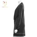Cardigan en laine noire oversize
