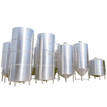 10000L 100HL customized stainless steel temperature control top manhole bright beer serving tank