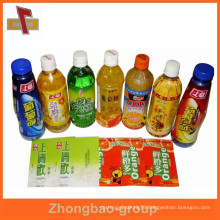 Competitive price plastic PVC heat shrink sleeve for drink bottle packaging