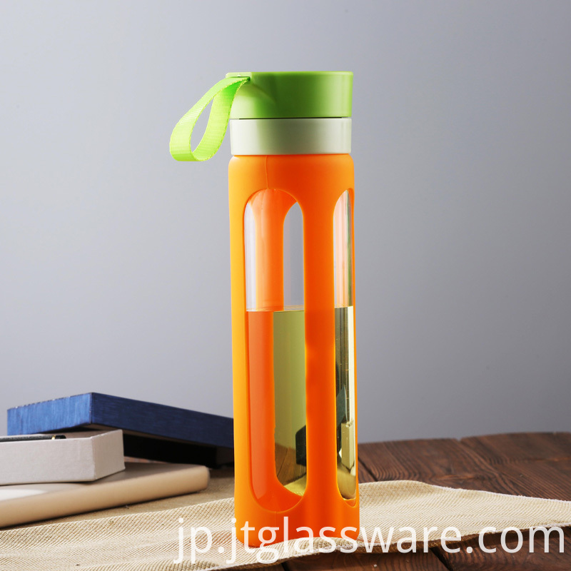Custom glass Sports Bottle