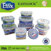 Recipiente de armazenamento de alimentos plástico congelador 2014