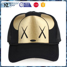 Hot selling OEM design custom foam mesh trucker hats for promotion