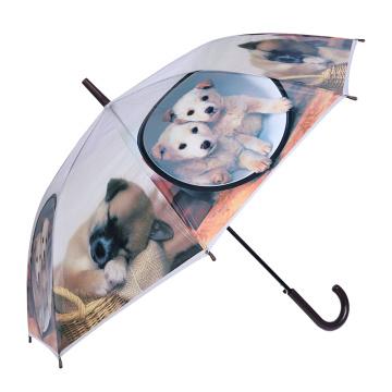 Nettes kreatives Tierdruck-Kind / Kinder / Kind-Regenschirm (SK-12)