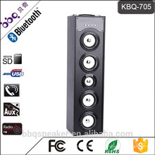 Горячая-продажи КБК-705 45ВТ башни Bluetooth динамик FM радио