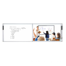 Multiuser 100 inch dual writing interactive whiteboard all-in-one touch screen