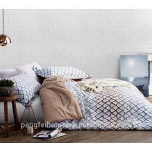 Tecido de microfibra de poliéster impresso para folha de cama com boa qualidade à venda