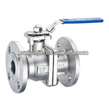 CF8 2PC Flanged Ball Valve 150LB Flanged Ball Valve