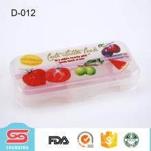 barato foodgrade plástico portátil 3 peças atacado utensílios de mesa para venda