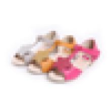 Hot venda meninas sandálias estrela sandálias flat atacado
