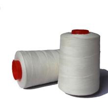 Hilo de coser de bordado de meta aramida blanco 40S / 2
