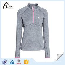 Wholesale Long Sleeve Running Shirts Women Running Wear