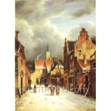 Pinturas a óleo clássicas decorativas para a venda