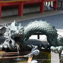 alibaba chine bronze skulpturen métal grand dragon fontaine d'eau