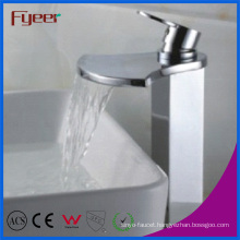 Fyeer High Arc Big Spout Waterfall Basin Water Tap (Q3005H)