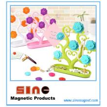 Décoration magnétique de réfrigérateur de message de Rose / décoration à la maison