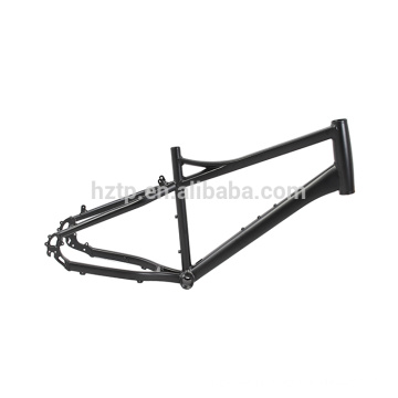 Classic design of aluminum frame for 20 inch electric fat bike with rear hub motor